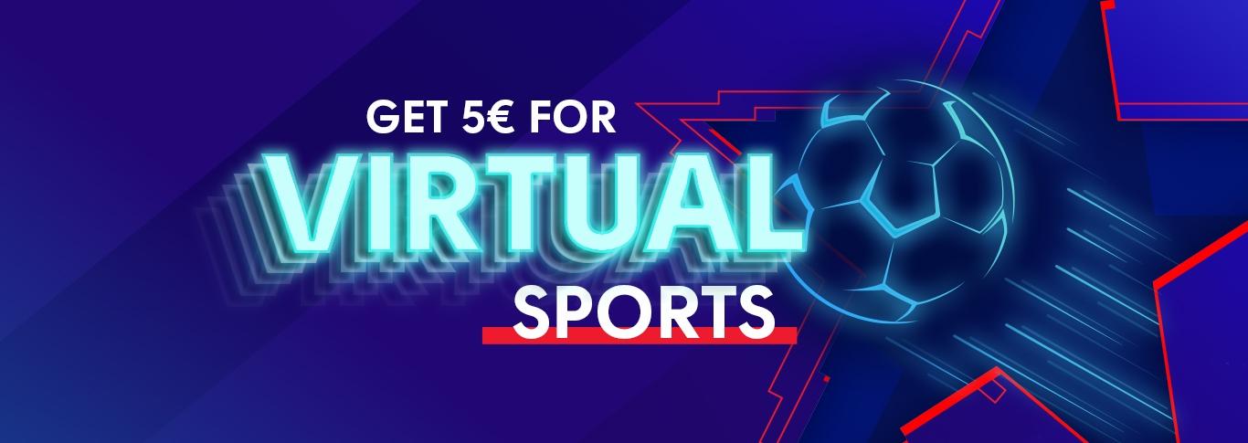 olybet casino get 5 euros virtual sport bonus