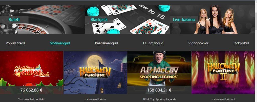 bet365 online kasiino slotid